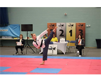 Holly Boardman at EUSA European Championships