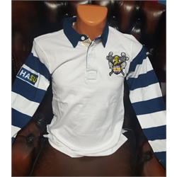 Image for Rupert Buckley White Rugby Shirt - Small
